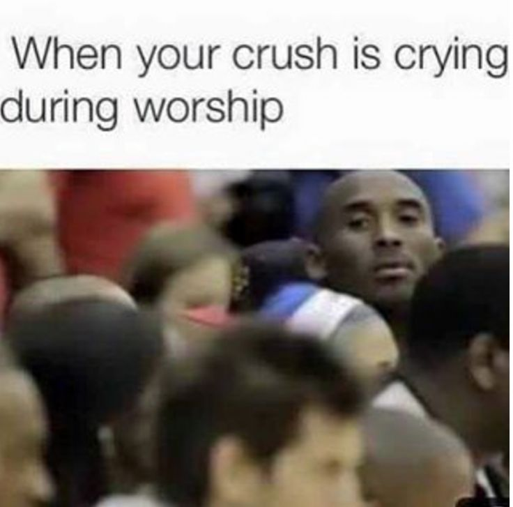 when-your-crush-is-crying-during-worship-funny-christian-memes